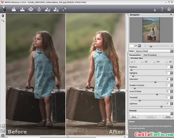 Tải AKVIS Enhancer - Phần mềm nâng cao chất lượng hình ảnh trên MAC OS X + Hình 3