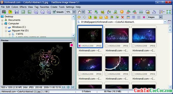 Download FastStone Image Viewer - Chỉnh sửa, quản lý ảnh trên Windows + Hình 3